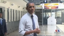 Obama Visits Federal Prison in Push for Sentencing Reform