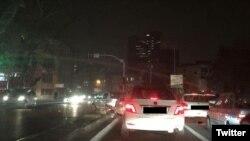 خیابانهای تهران در خاموشی