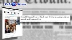 Số cử tri da đen ủng hộ ông Trump có thể là thấp nhất trong lịch sử (VOA60)