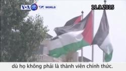 Palestine treo cờ tại trụ sở LHQ (VOA60)
