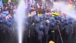 馬尼拉民眾抗議APEC峰會