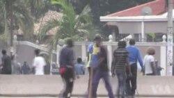 La police disperse les manifestants avec des gaz lacrymogènes en RDC