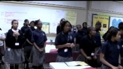 Amerika maktablarida/African American girls school