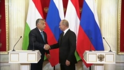 Hungary's Orban Warms to Putin Over Nuclear Deal, Despite European Sanctions Against Moscow
