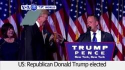VOA60 World PM - Trump Pulls Off Upset Victory Over Clinton