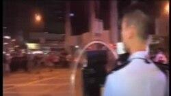 旺角示威者與警方發生衝突