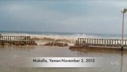 Local Video Shows Yemen Cyclone Damage