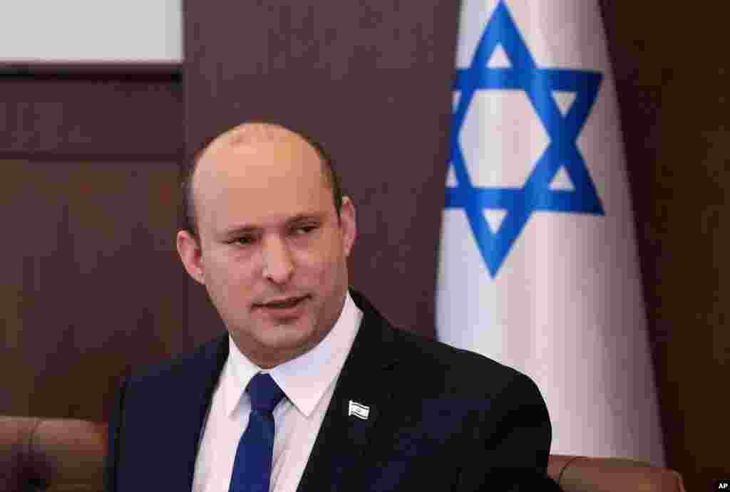 İsrailin baş naziri Naftali Bennett ilk kabinet iclasında