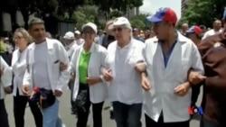 2017-05-23 美國之音視頻新聞:委內瑞拉不滿馬杜羅政府的示威持續 (粵語)