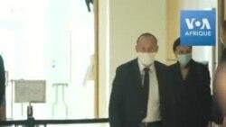 Affaires des écoutes: arrivée de Nicolas Sarkozy au tribunal