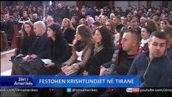 Krishtlindjet në Tiranë