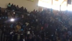 National People's Party Supporters Welcome Joice Mujuru