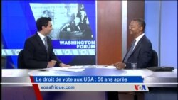 Washington Forum du du 13 août 2015 : le Voting Rights Act, 50 ans après