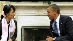 VOA连线: 奥巴马昂山素季会晤