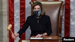 Shugabar Majalisar Wakilai Nancy Pelosi.