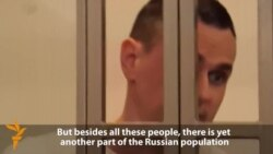 Jailed Ukrainian Filmmaker Speaks Out Against Russian 'Crimes'