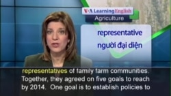 Anh ngữ đặc biệt: FAO Family Farming (Ag-Rep)