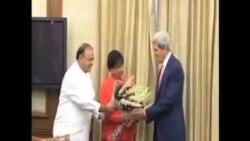 克里敦促印度支持世界貿易改革