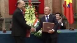 Việt-Ấn mở rộng hợp tác thăm dò dầu khí ở Biển Đông