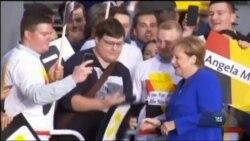Вибори у Бундестаг: Меркель виграє четвертий термін, правляча партія ХДС/ХСС здобуває понад 32%. Відео