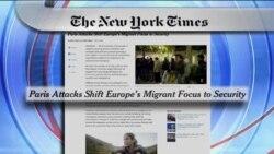 بررسی حملات تروریستی پاریس در مطبوعات انگلیسی زبان
