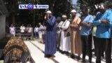 VOA60 AFIRKA: A Kenya 'yan sanda sun harbe wani matashi har lahira a barandar gidansu a yayin da suke aiwatar da dokar hana fitar dare