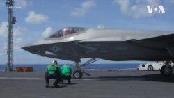 США випробували свій найсучасніший винищувач F-35. Відео