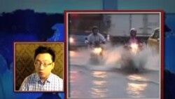 VOA连线: 台风豪雨袭台湾,火车出轨灾情多