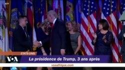 Troisième anniversaire de la présidence Trump