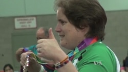 Special Olympics Show Competitors' Skill, Determination