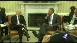 奥巴马和越共领导人在白宫里程碑式会面