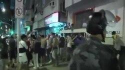 世界盃決賽阿根廷隊敗北後球迷鬧事