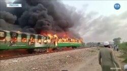 Pakistan'da Tren Yangını: En az 74 Ölü