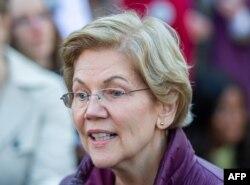 Senatör Elizabeth Warren