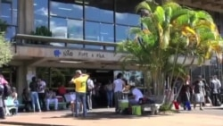 非洲留学生享受快乐巴西