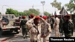 Askeri geçit törenine düzenlenen saldırıyı Husi militanları üstlendi.