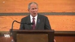 L'ancien président George W. Bush rend hommage à John Lewis