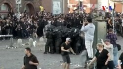 G-20 Zirvesi Öncesi Hamburg Sokakları Karıştı