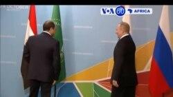 Manchetes Africanas 23 Outubro 2019: Rússia recebe África em Sochi