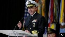 Глава Стратегічного командування адмірал ВМС Чарльз Річард