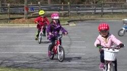 Kursus Sepeda Anak Populer di Musim Panas