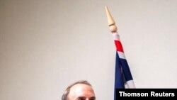 دومینیک راب، وزیر خارجه بریتانیا (آرشیو)