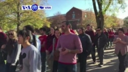 VOA60 America- University of Missouri increases security after threats