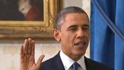 Օբաման եւ Բայդենը երդվեցին, հունվարի 20, 2013