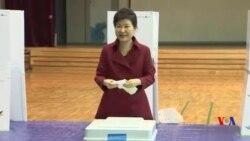 南韓舉行國會選舉