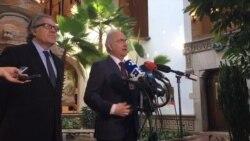 Almagro da la bienvenida a Ledezma en la OEA