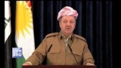 عراقی کردستان کے صدر کا استعفی دینے کا اعلان