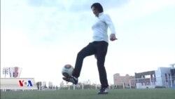 Jina Sûrî Maha Dixwaza Bibe Hînkara Yekê ya Futbolê