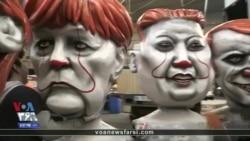کارناوال نیس امسال با کاریکاتورهای غول پیکر از سیاستمداران و چهرههای مشهور برگزار میشود