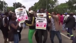 Thousands Turn out for March Aimed at Forcing Zimbabwe President to Resign